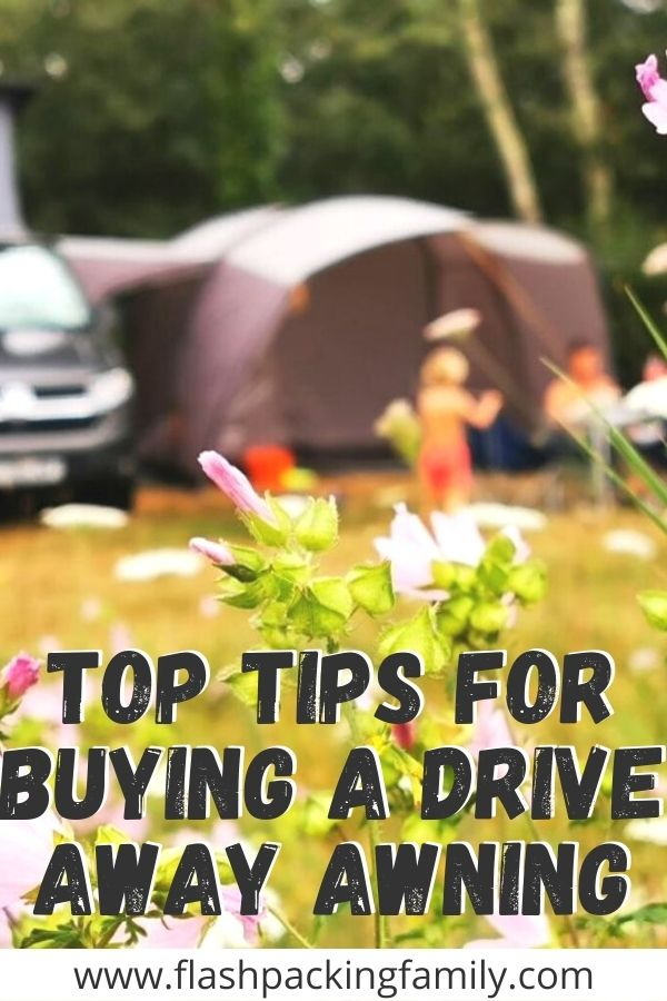 Top Tips For Buying A Drive Away Awning
