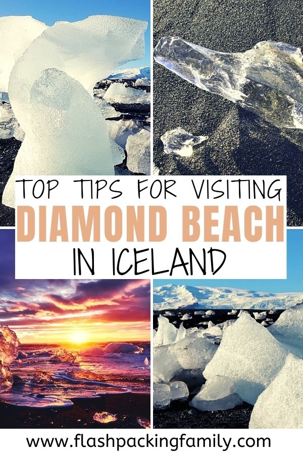 Top tips for visiting Diamond Beach Iceland