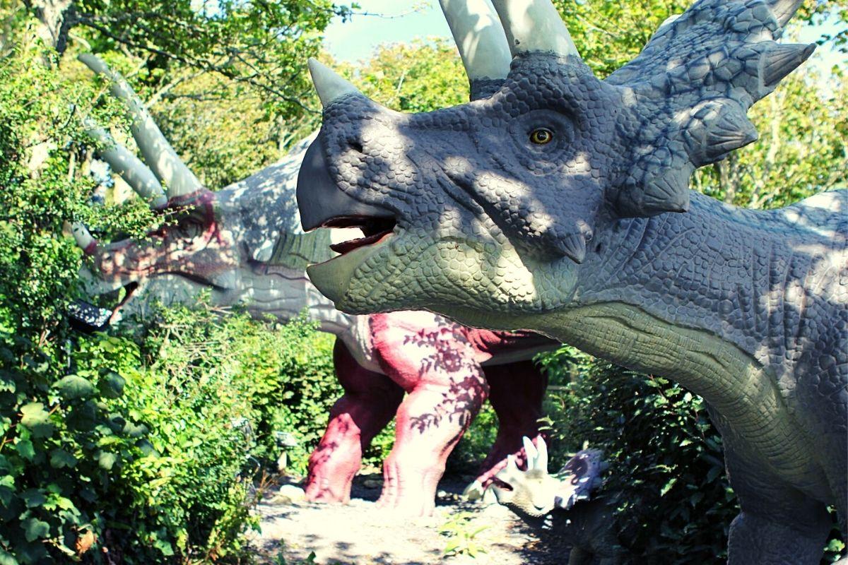 Triceratops at Blackgang Chine