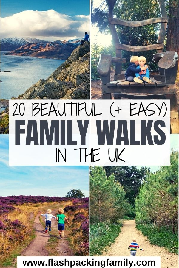 20 Beautiful (And Easy) Family Walks in the UK