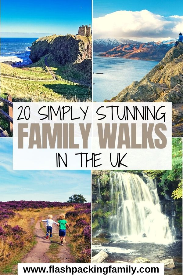 20 Simply Stunning Family Walks in the UK