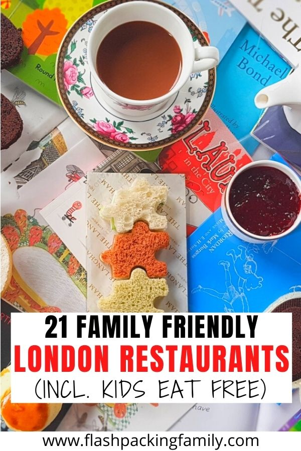 21 Family Friendly London Restaurants (incl. Kids Eat Free)