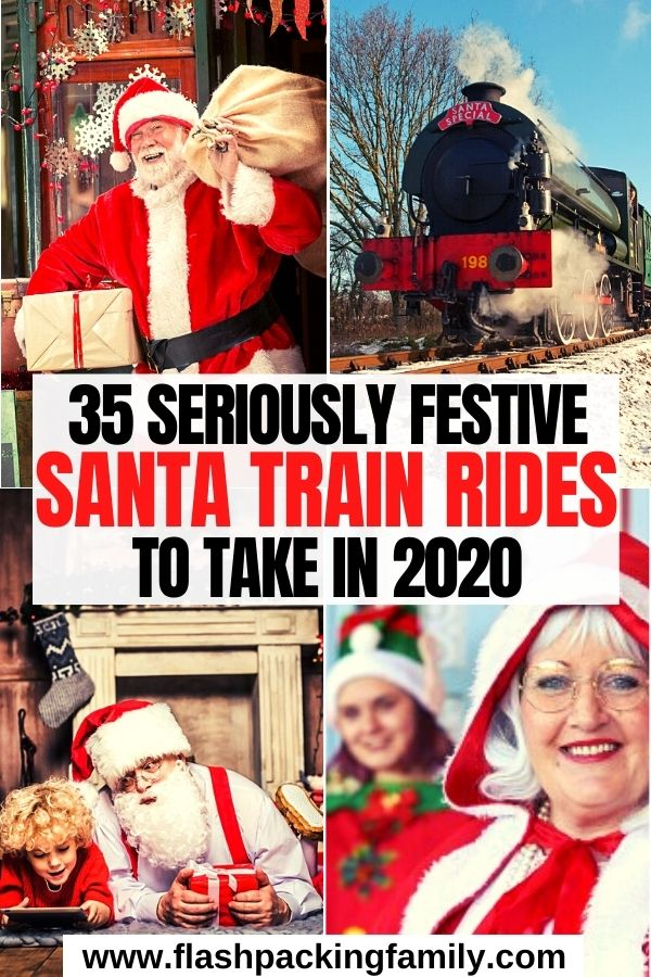 35 Seriously Festive Santa Train Rides to Try in 2020