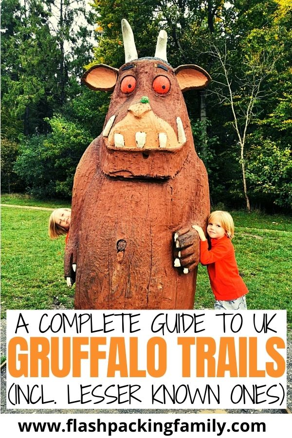 A Complete Guide to UK Gruffalo Trails (incl. lesser known ones)