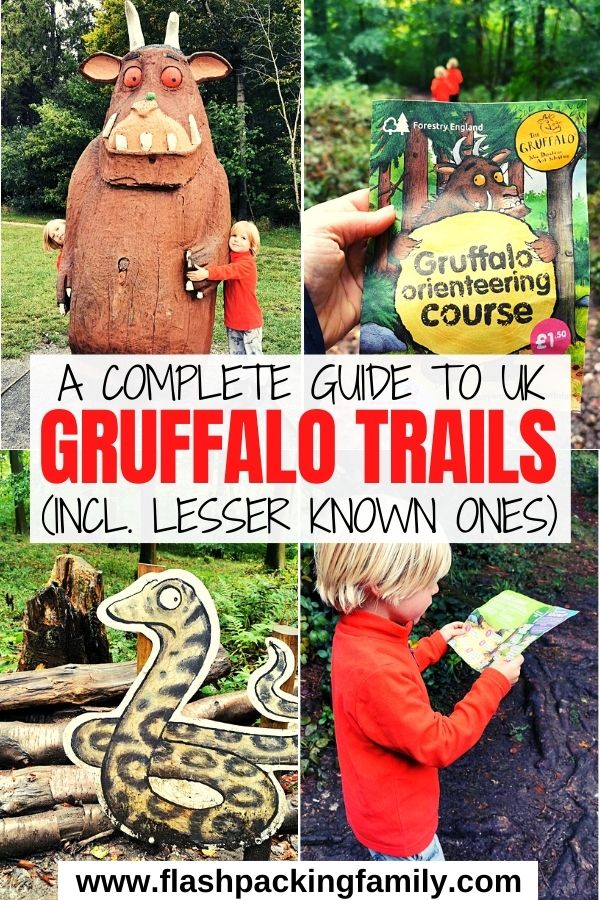 A Complete Guide to UK Gruffalo Trails