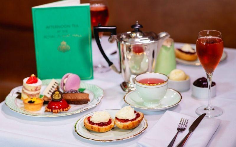 Afternoon Tea at the Royal Albert Hall