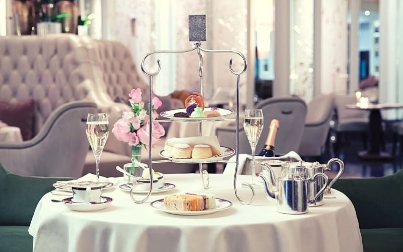 Afternoon Tea in London at The Langham