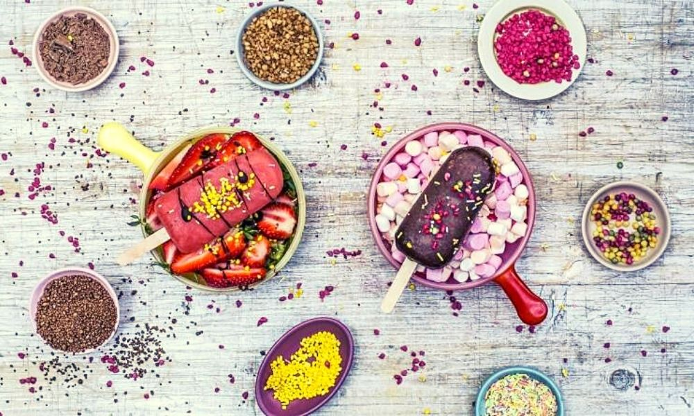 Build your own ice cream at Heddon Street Kitchen