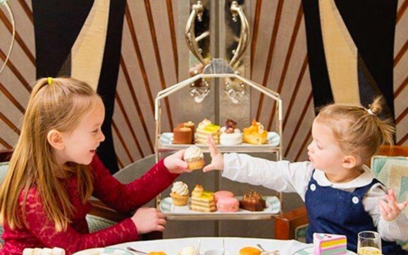 Children's Afternoon Tea at Claridges