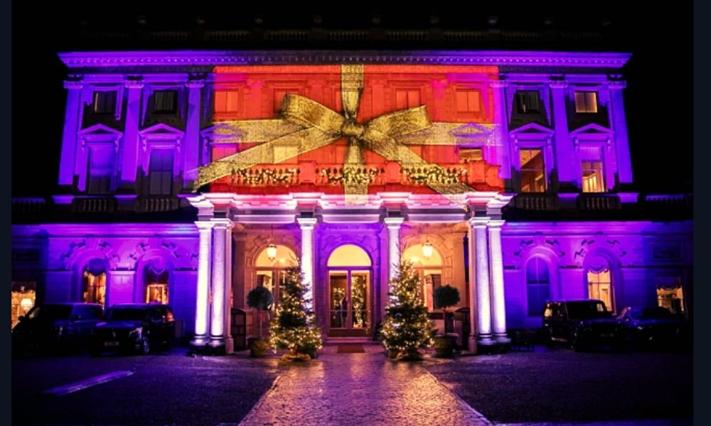 Cliveden House at Christmas