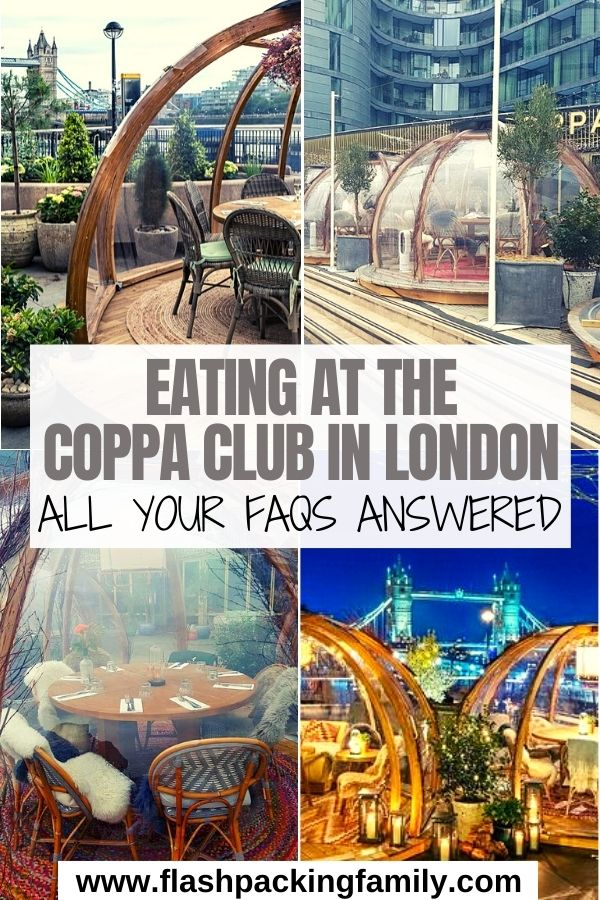 Eating at the Coppa Club in London - All Your FAQs Answered