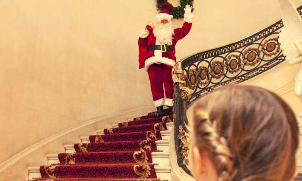 Father Christmas at Luton Hoo Hotel & Spa