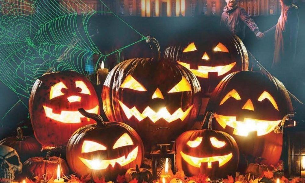 Halloween at Blenheim Palace.