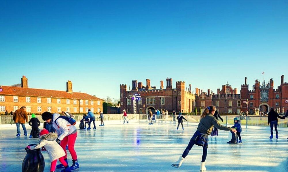 Hampton Court Palace ice skating