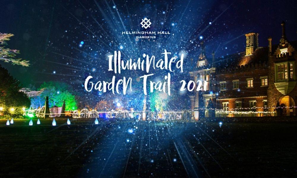 Helmingham Hall Gardens Illuminated Garden Trail 2021
