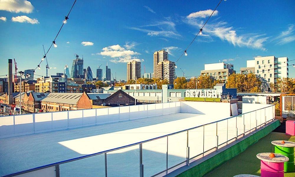 Ice Rink at Skylight London