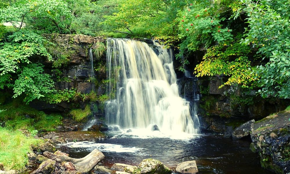 Janet's Foss in the Yorkshire Dales