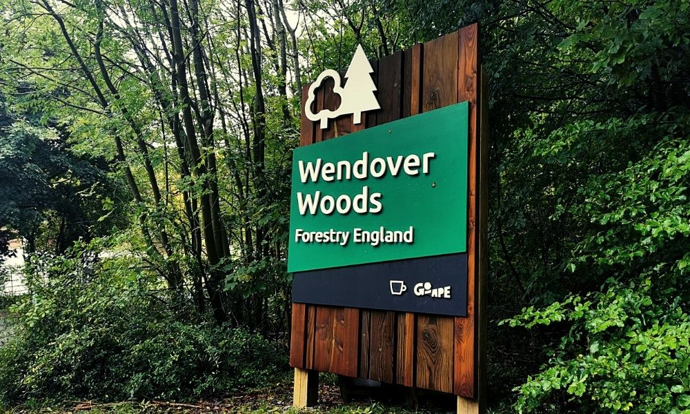 Main entrance to Wendover Woods