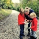 Map reading on the Wendover Woods Gruffalo Trail
