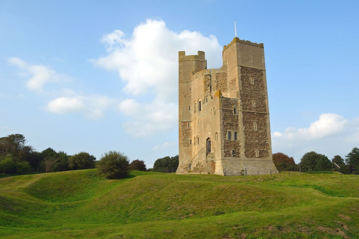 Orford Castle in Suffolk