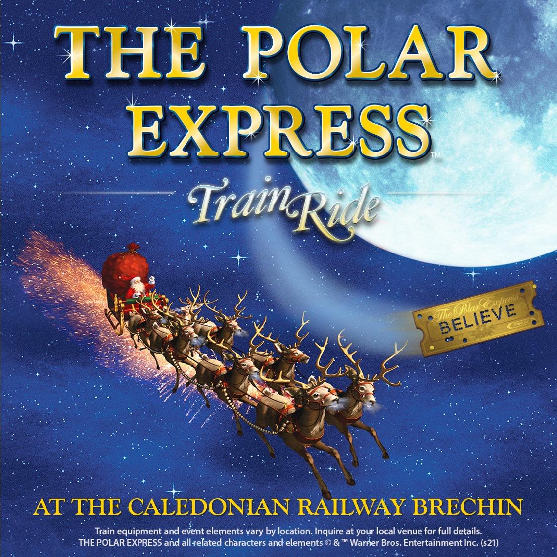 Polar Express Train Ride 2021 at the Caledonian Railway.