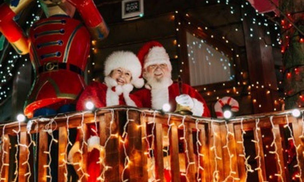 Santa's Gingerbread House at Ribby Hall