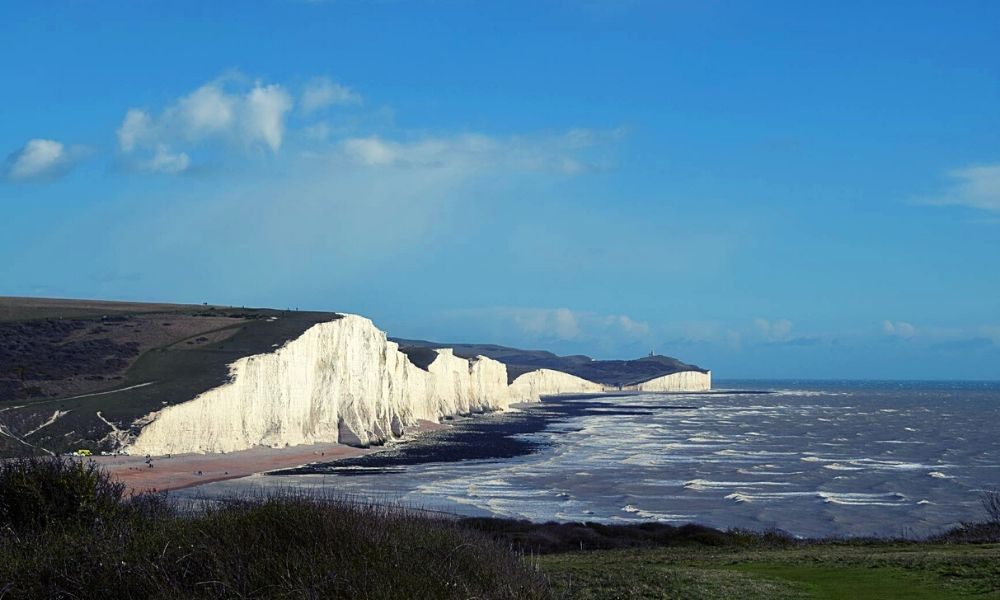 Seven Sisters on the East Sussex coast