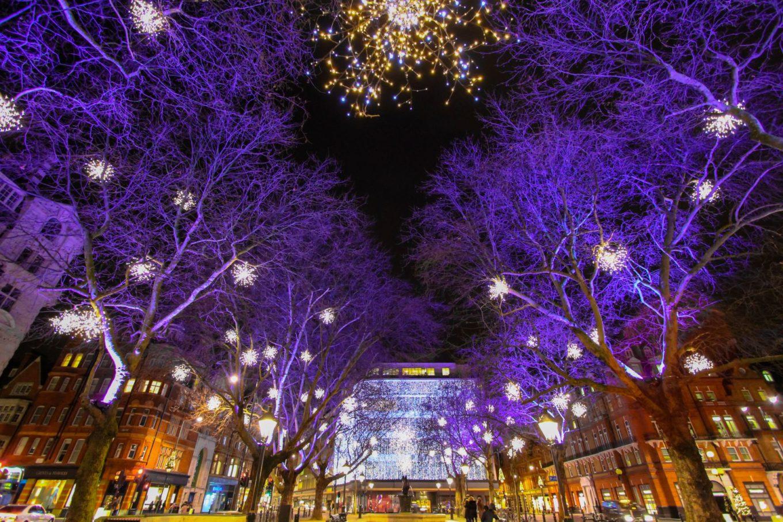 Sloane Square Christmas lights