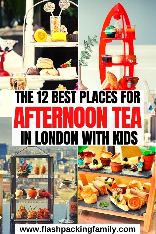 The 12 Best Places for Afternoon Tea in London with Kids