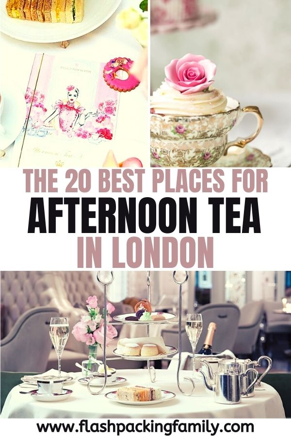 The 20 Best Places for Afternoon Tea in London