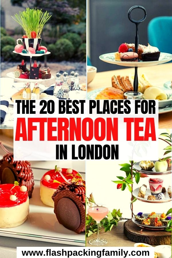 The 20 Best Places to Have Afternoon Tea in London
