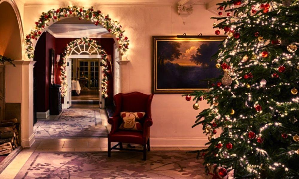 The Chewton Glen Hotel & Spa at Christmas