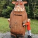 The Gruffalo sculpture at The Wendover Woods Gruffalo Trail