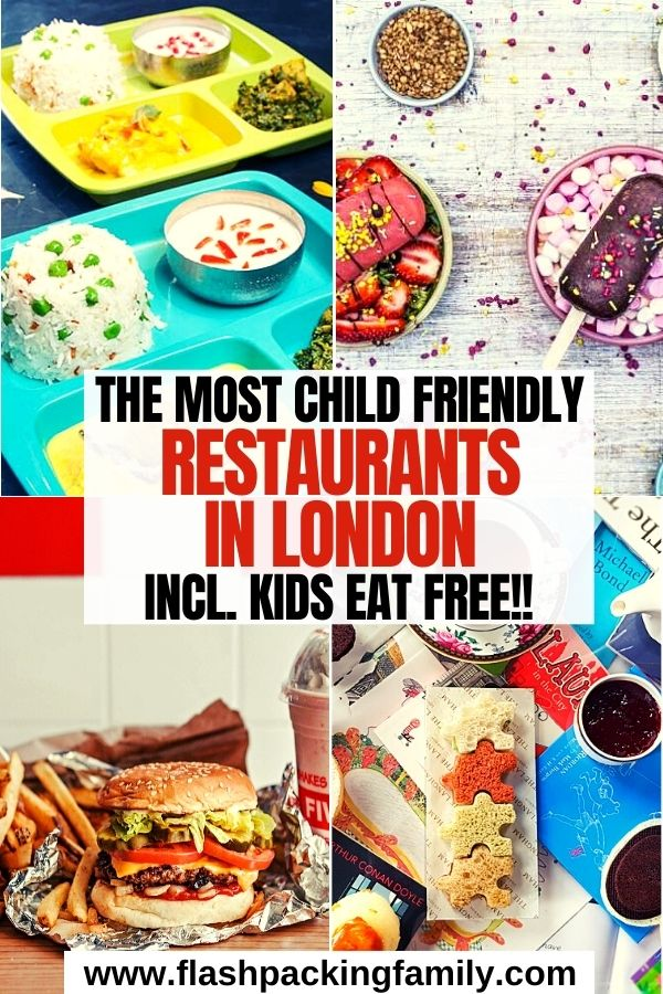 The Most Child Friendly Restaurants in London incl. Kids Eat Free