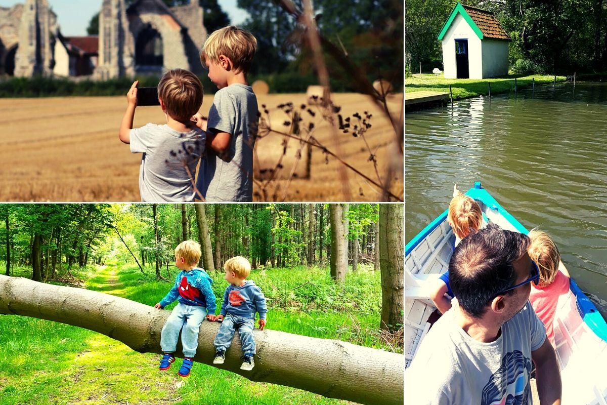 Things to do in Suffolk with Kids