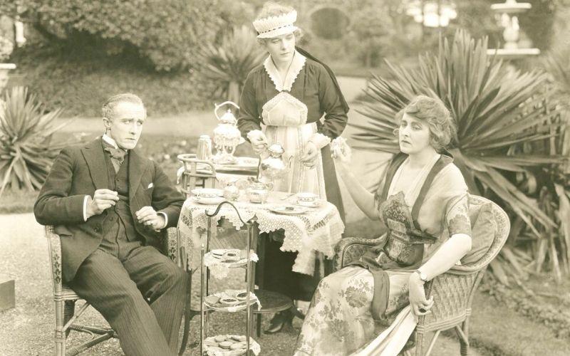 Victorian afternoon tea
