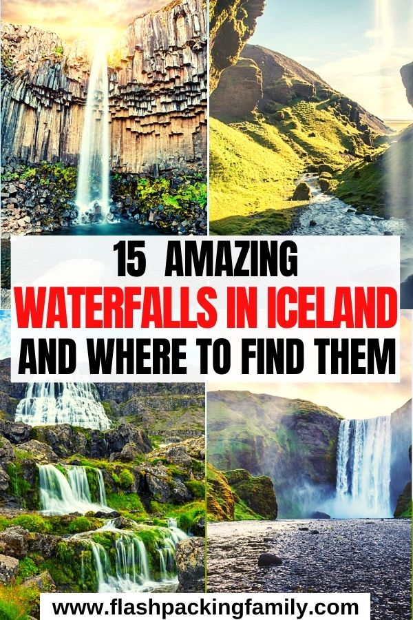 15 Amazing Waterfalls in Iceland and Where to Find Them