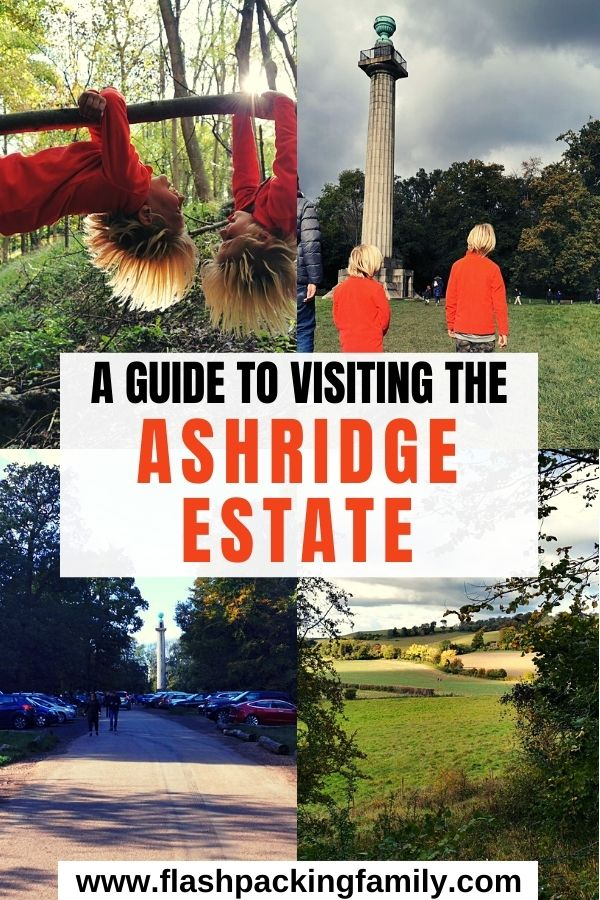 A Guide to visiting the Ashridge Estate