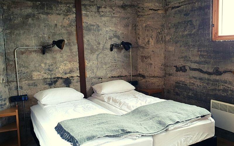 Bedroom in The Garage