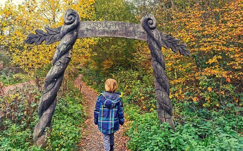 Broxbourne Woods Sculpture Trail