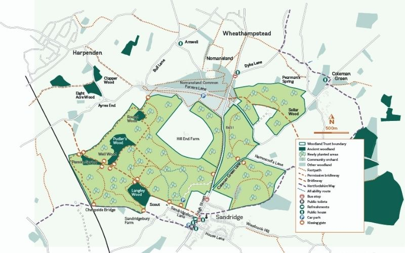Heartwood Forest map