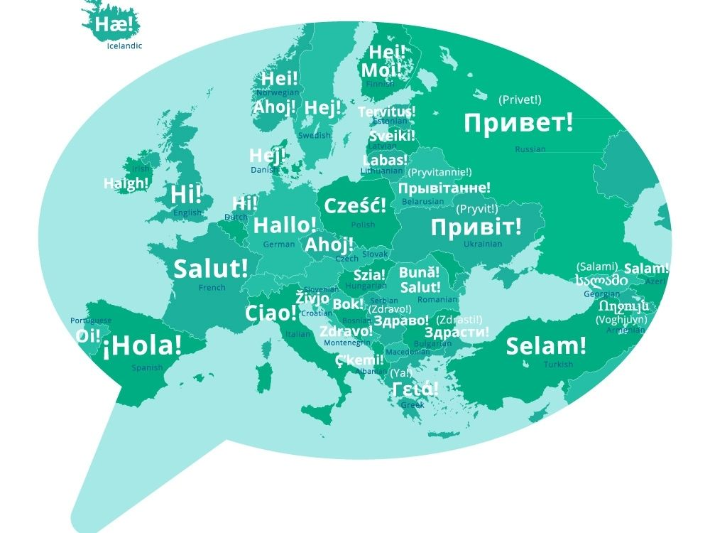 How to say Hello in different languages