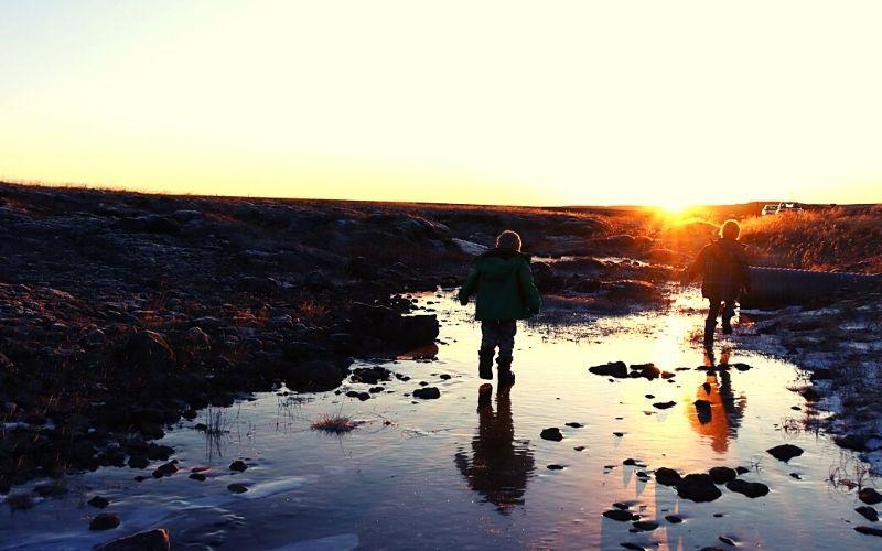 Loving the ice in Iceland in October