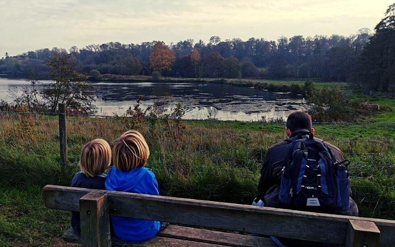 Osprey Lake at Panshanger Park