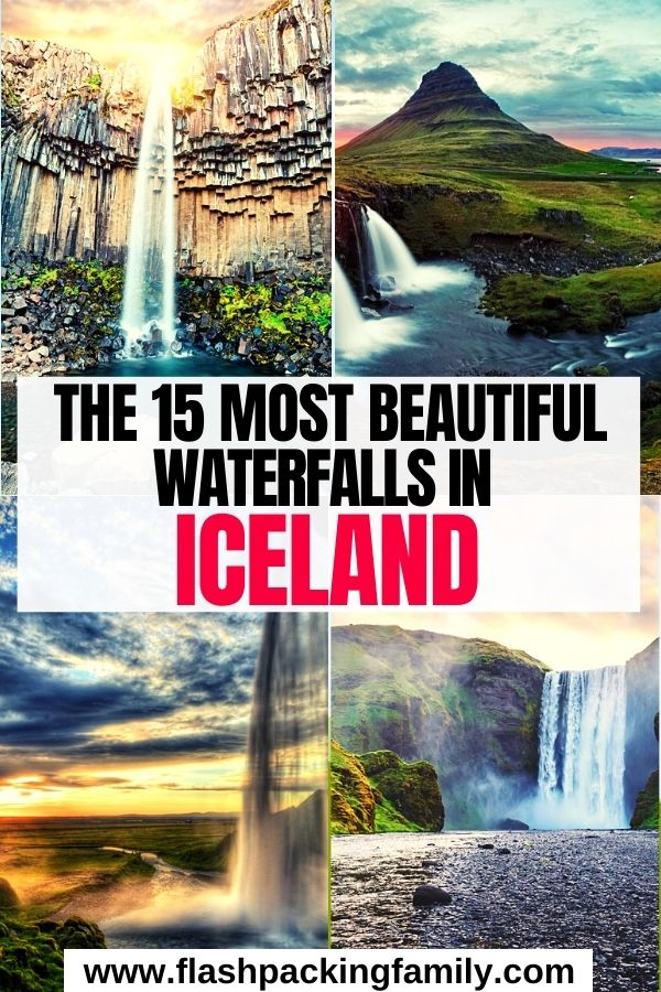 The 15 Most Beautiful Waterfalls in Iceland