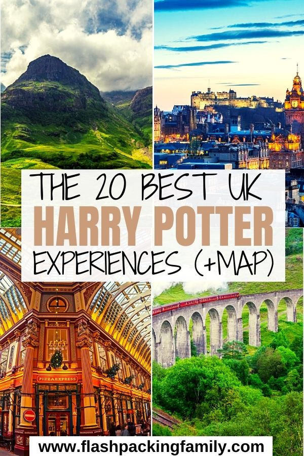 The 20 Best UK Harry Potter Experiences with Map