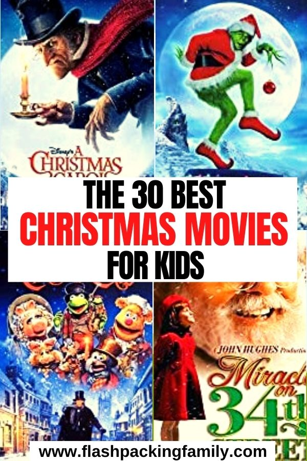 The 30 Best Christmas Movies For Kids