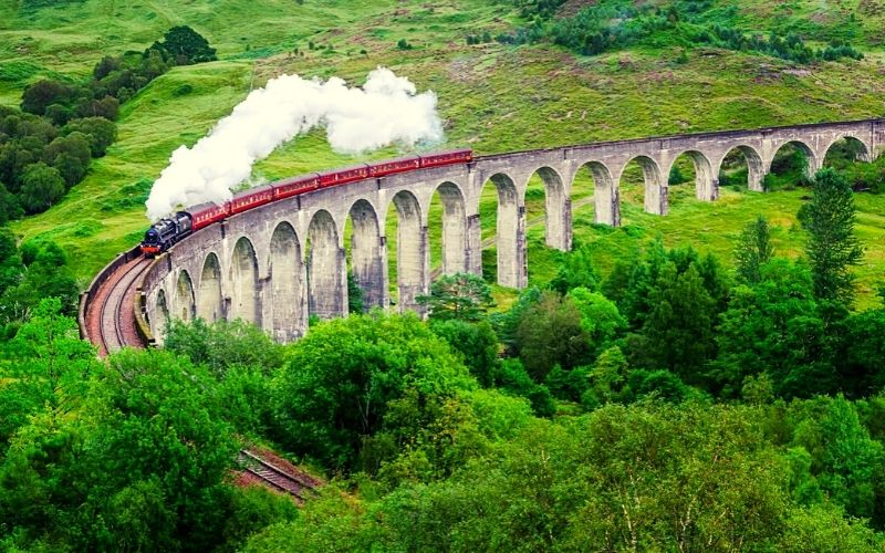 The Jacobite (aka the Harry Potter Train)