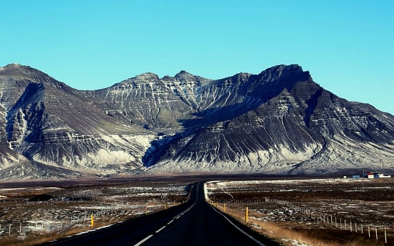 The Ring Road in Iceland in October