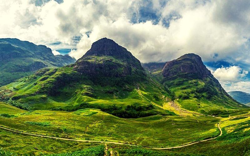 The stunning Scottish Highlands